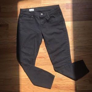 Gap black legging jean petite